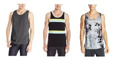 Tank tops for men - http://heeyfashion.com/2015/08/tank-tops-for-men/