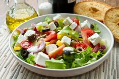 Lunch Recipe: Greek Salad