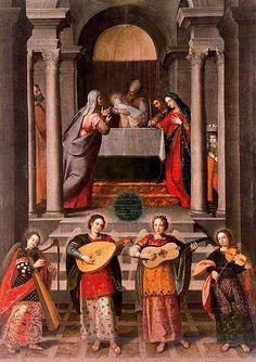 Diego Valentín Díaz (1586-1680),  Presentación del Niño en el templo, óleo sobre lienzo, 220x160 cm., 1650 ca., Valladolid, Museo Nacional de Escultura