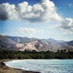 Mountains by the Caribbean #cuba
