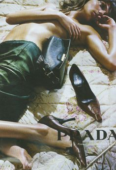 Daria Werbowy for Prada Fall Winter 2003