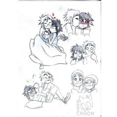 Image shared by Little Noodle. Find images and videos about love, gorillaz and noodle on We Heart It - the app to get lost in what you love. Jamie Hewlett Art Book, 2d And Noodle, Sunshine In A Bag, Monkeys Band, Balloon Race, Gorillaz Art, Comic Manga, Hero Wallpaper, Beautiful Voice