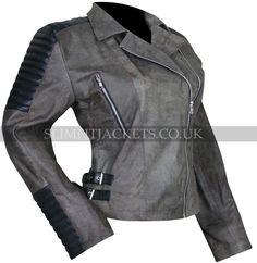Christian_Serratos_Grey_Walking_Dead_S5_Leather_Jacket