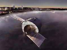 #Arquitectura sorprendente. // BIG architects: st. petersburg pier competition shortlist