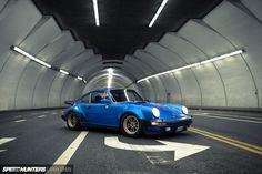 911 Magnus Walker. Inside of 2nd Street Tunnel in downtown. Los Angeles. Larry Chen photo.