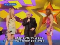 """Aznavour, Daughter and Granddaughter singing """"Hier Encore""""  ----------------(Yesterday When I was Young)"""
