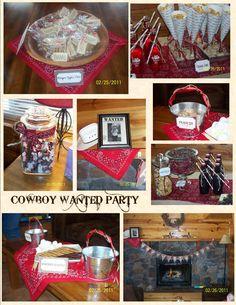 Cowboy Birthday Party!