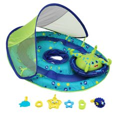 SwimWays Baby Spring Float Activity Center with Canopy | DICK'S Sporting GoodsProposition 65 warning iconProposition 65 warning icon