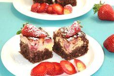 Pripravte si zdravý, chutný a sýty koláč z ovsených vločiek. Kids Meals, French Toast, Cheesecake, Muffin, Food And Drink, Baking, Breakfast, Recipes, Yum Yum