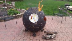 With the buzz still surrounding the latest Star Wars film and the anticipation of long summer nights, Farmington Metal Firepits unites the two in a playfully unexpected way. They've created a Death Star-inspired fire pit that roasts delicious s'mores while paying homage to the epic movie franchise–especially the unforgettable scene where this planet-destroying weapon is …