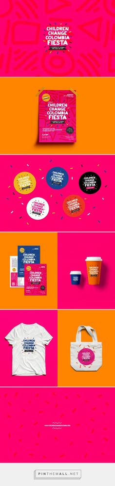 Children Change Colombia Fiesta on Behance - created via https://pinthemall.net