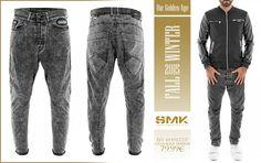 SMK DENIM&Co.: SMK DENIM&Co. | CALÇA BLACK TRAVELER | 79.99€