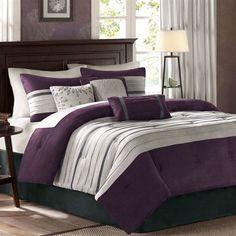 Porter Comforter Bed Set Grape