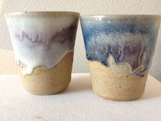 Woodfired cups created by Marlene van der Mark