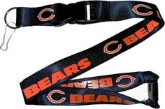 Chicago Bears Deluxe Breakaway Lanyard by aminco. $6.41. Most items are in stock. If the item is out of stock; you will be notified IMMEDIATELY via Amazon Message Notification System of the restocking date and availability. Call or email for quantity discounts on products!. Officially licenced sports products. This is our highest quality Lanyard. Features printning on both sides, detachable base with clip and (though not shown in the picture), a blastic breakaway tab...