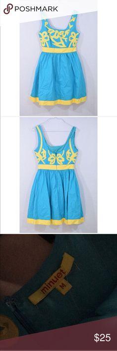"Modcloth Minuet Teal Mini Dress Great condition. 33"" L 17"" pit to pit back zipper Modcloth Dresses Mini"