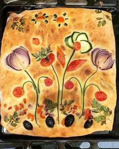 Cute Food, Good Food, Yummy Food, Bread Art, Artisan Bread, Daily Bread, Creative Food, Bread Baking, Food Art