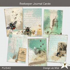 Beekeeper Journal Cards | Design de Wild