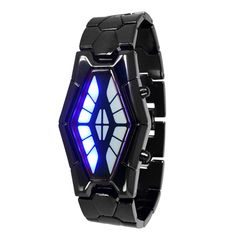 Brand: N/A Model: N/A Shade Of Color: Black Casing Material: Zinc alloy Wristband Material:Tungsten Steel Suitable for: Adults Gender: Men Specification Style: Led Watch, Men Online, Watch Sale, Digital Watch, Watches For Men, Wrist Watches, Red And Blue, Snake, Steel