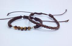 tiger eye beads pulseira masculina bracelet bracelets