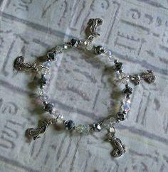 Snake bracelet Egyptian style Silver Cobra by EgyptianInspirations, $27.99