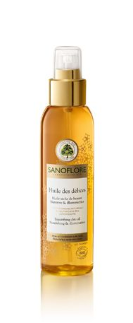 HUILE DES DELICES Sanoflore, delicious dry oil for face, hair and body