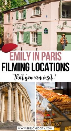 Are you a Emily in Paris fan? Discover the most beautiful filming locations of Emily in Paris. Perfect for people on a vacation in Paris! Emily in paris filming locations | Emily in paris quotes | Emily in paris netflix | Emily in paris scene | Things to do in Paris | Beautiful places in paris | Paris bucket list | Hidden gems in Paris | Paris travel guide | Paris travel places | Paris travel tips | Paris travel itinerary | Paris travel guide places to visit | Paris travel list Paris France Travel, Paris Travel Guide, Travel List, Travel Goals, Travel Guides, Paris Quotes, Paris Bucket List, Paris Things To Do, Day Trip From Paris