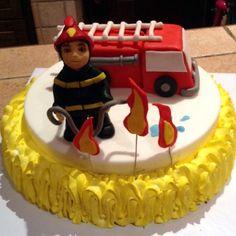 Una torta operativa #VigiliDelFuoco