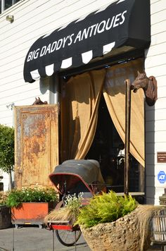 Big Daddy's Antiques - stores in San Francisco and Los Angeles and a monthly booth at the Alameda Antiques Fair