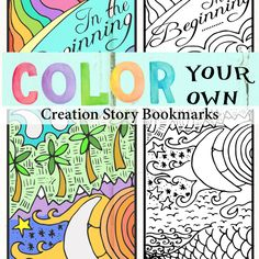 Creation story bookmarks
