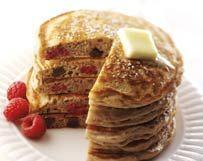 Chocolate Raspberry Pancakes | Wisconsin Milk Marketing Board