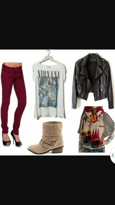 Cute outfit for going to the mall.