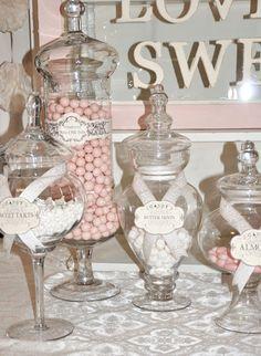 Candy Buffet #nutsdotcom #wedding