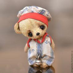 Авторские медведи-тедди Беспаловой Екатерины: Морские мишки. Sea Bears.