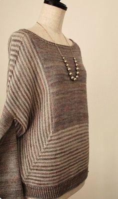 True Friend by Vera Vaalimaki, this version by knittimo, pattern available on Ravelry. Knitting Blogs, Baby Knitting, Sombrero A Crochet, Knitwear Fashion, Crochet Clothes, Pulls, Ravelry, Knitting Patterns, Knit Crochet