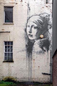 La joven de la perla? Banksy