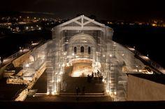 Une église reprend vie grâce à du fil de fer - Culture - Aleteia : la source Chrétienne de référence - Actualité & Spiritualité