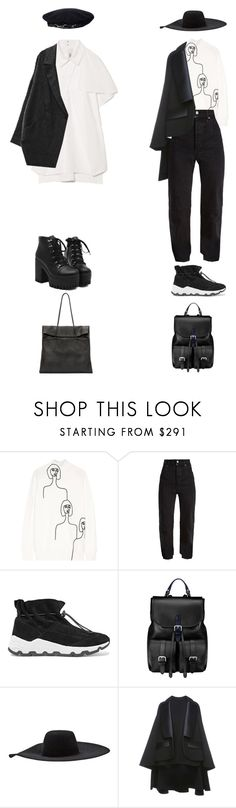"""""""Untitled #1331"""" by jayda-xx ❤ liked on Polyvore featuring Victoria, Victoria Beckham, Vetements, Opening Ceremony, Aspinal of London, Lanvin, Dice Kayek and Maison Margiela"""