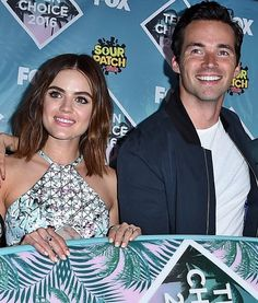 Ian and Lucy #tca2016