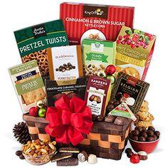 1196 best Healthy Food Gift Baskets images on Pinterest | Food gift ...