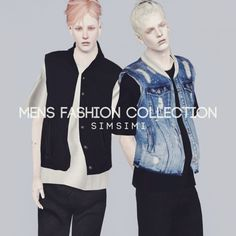 MEN'S FASHION COLLECTION 2 by SIMSIMI - Sims 3 Downloads CC Caboodle