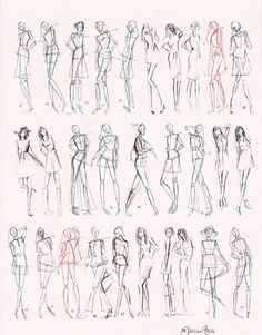 Gesture Fashion Figures (1 minute & 5 minutes)