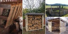 Pallets are very useful to use around the house, farm and yard. You can use them to create anything from garden beds to compost bins and even chicken coops! via diytotry.com