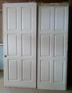 """Antique Doors, Architectural Antiques  $45  30"""" x 7' and 32"""" x 7'"""