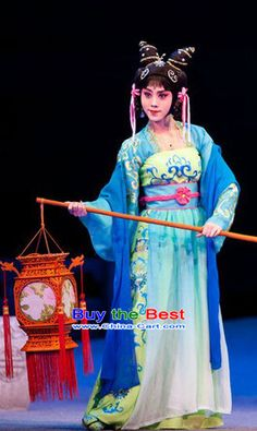 Ancient Chinese Peking Opera Stage Performance Costumes for Women