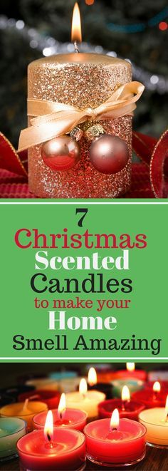 7 Christmas Scented Candles to Make Your Home Smell Amazing - great gift ideas!
