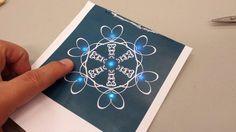 Paper Circuit SnowFlake