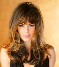 .... Hairstyles With Bangs, Cool Hairstyles, Jessica Parker, Honey Blonde Hair, Corte Y Color, Free Hair, Hair Dos, Hair Inspiration, Hair Beauty