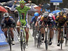Team Sky | Pro Cycling | Photo Gallery | Tirreno-Adriatico Stage Three Gallery Sagan, Cavendish and Greipel in sprint finish
