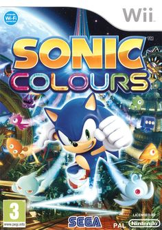 Sonic Colors - Nintendo Wii Game Includes Nintendo Wii original game disc in case and may come with the original instruction manual and cover art when available. All Nintendo Wii games are made for an Nintendo Ds, Super Nintendo, Nintendo Switch, Nintendo Games, Tmnt, Playstation, Sonic The Hedgehog, Speed Action, Br Games